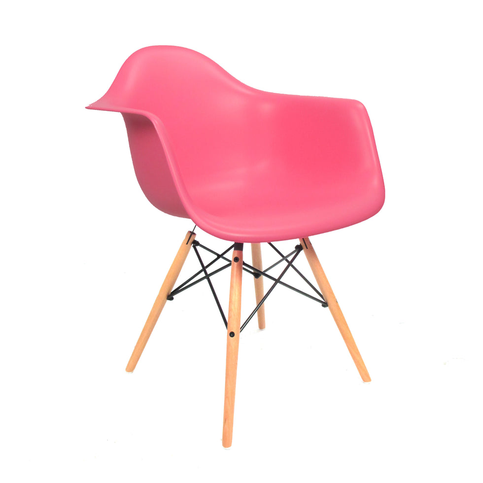 Eames DAW chair roze - Charles & Ray Eames chairs