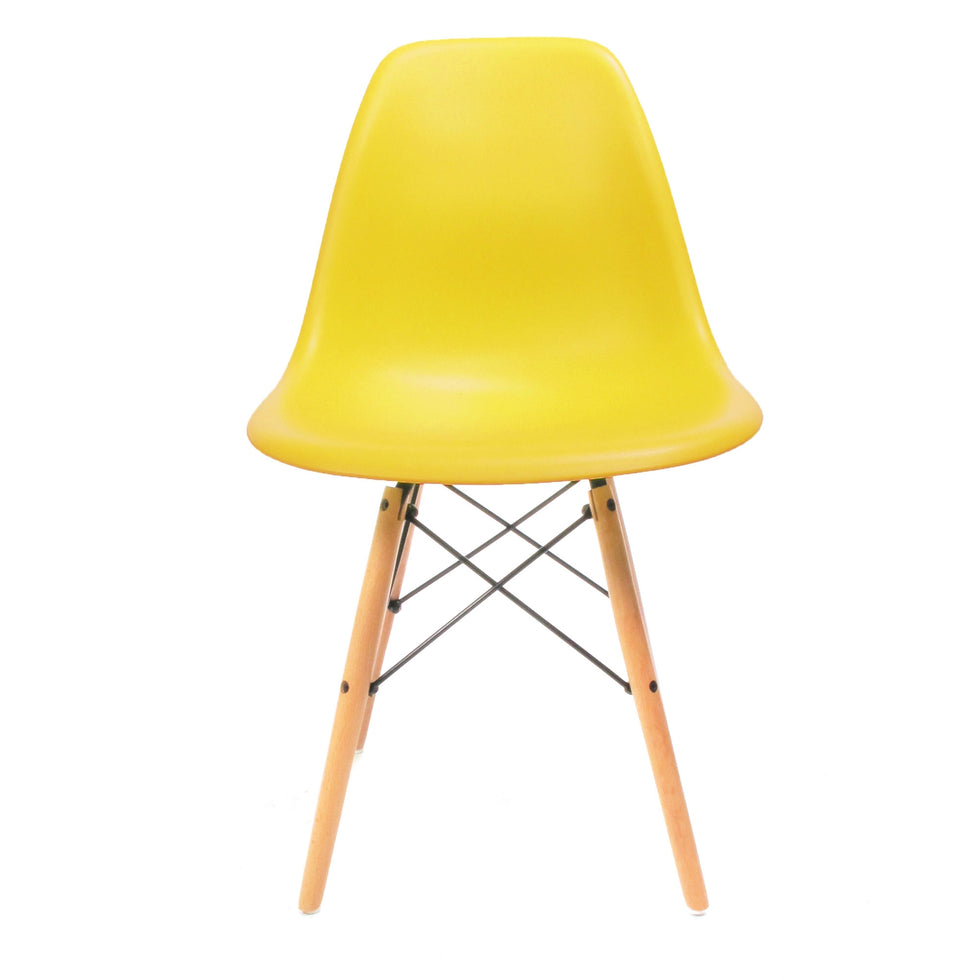 Eames DSW chair geel
