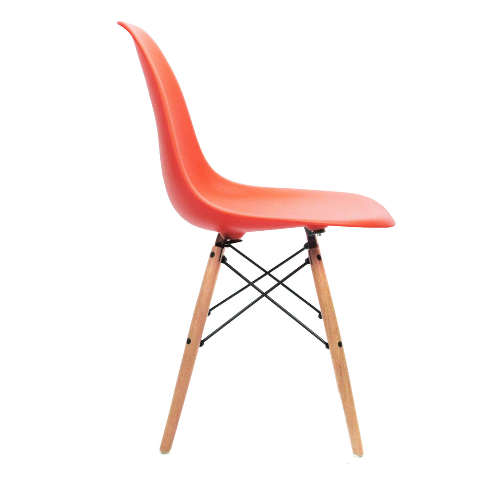 Eames DSW chair oranje - Charles & Ray Eames