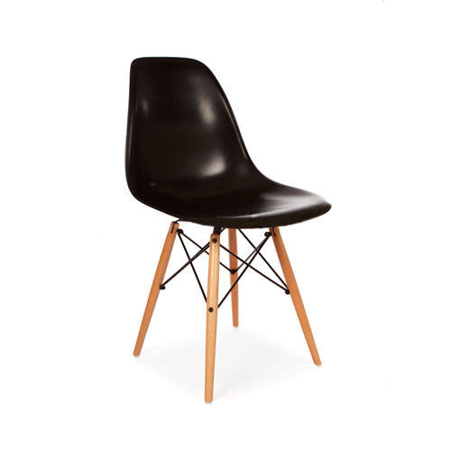 Eames DSW chair zwart - Charles & Ray Eames