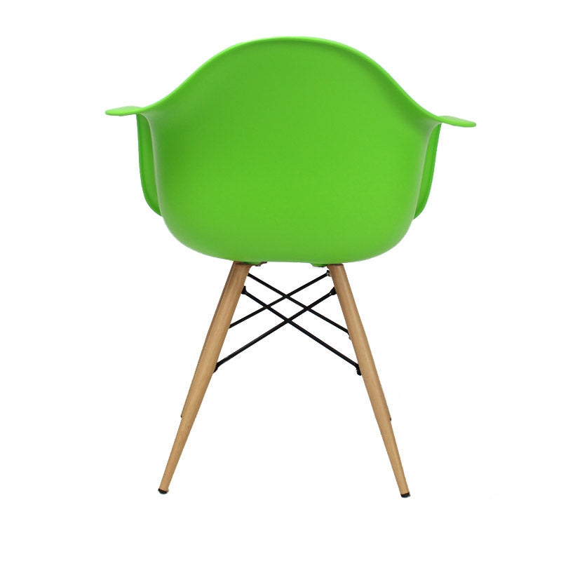 Eames Garden Chair lime groen - Design tuinstoel