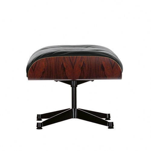Eames Lounge Chair Ottoman zwart
