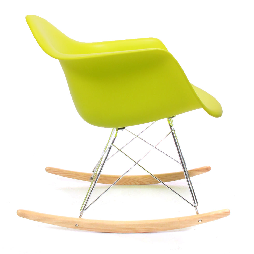 Eames RAR schommelstoel yellow - Eames RAR rocking chair - Charles & Ray Eames