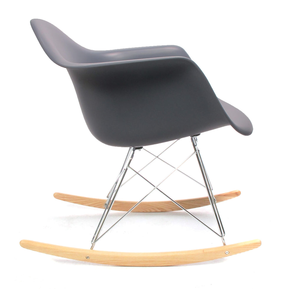 Eames RAR schommelstoel grijs - RAR Rocking chair