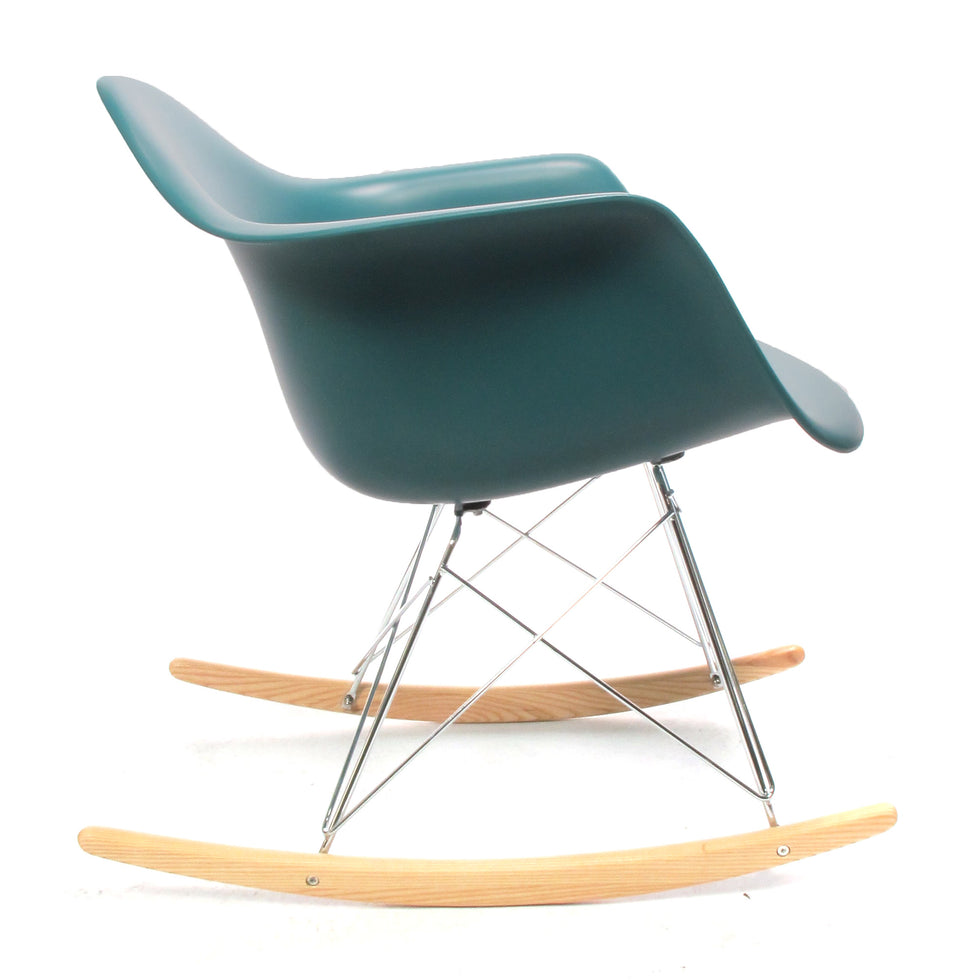 Eames RAR schommelstoel ocean blauw - RAR Rocking chair