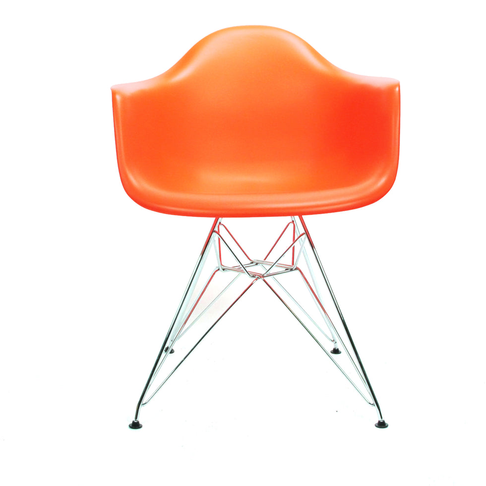 Eames DAR chair oranje - Charles & Ray Eames chairs
