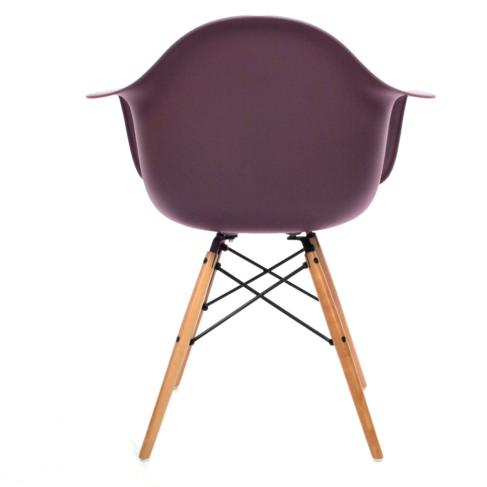 Eames DAW chair mauve grijs - Charles & Ray Eames chairs