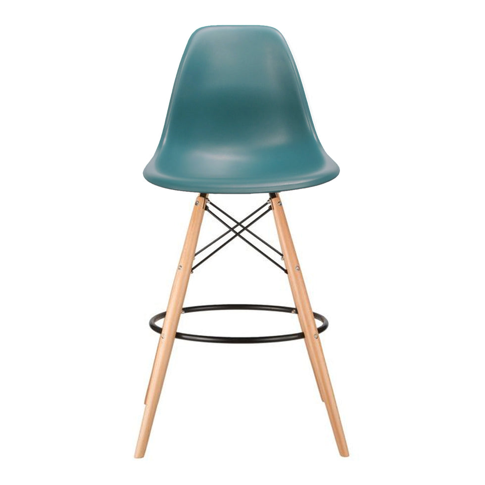 Eames DSW barkruk ocean blue - Ray & Charles Eames chairs