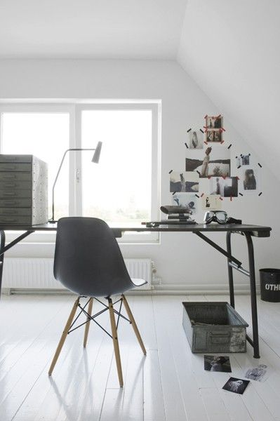 Eames DSW chair grijs - Charles & Ray Eames
