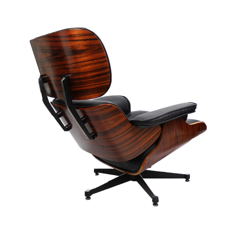 Tweedekans product - Eames Lounge Chair zwart
