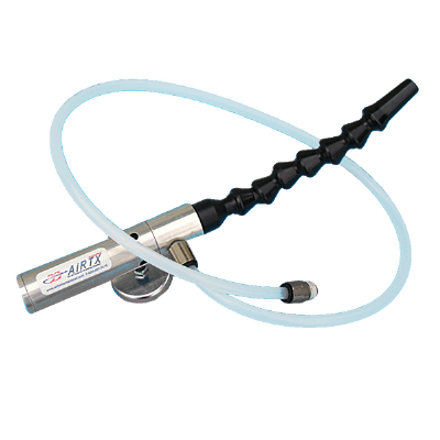 Compact Air Gun incl. 8 CFM Compact Air Gun, Snap-Flex Hose with Magnetic Base, 1/4 In. Push-on Hose Inlet