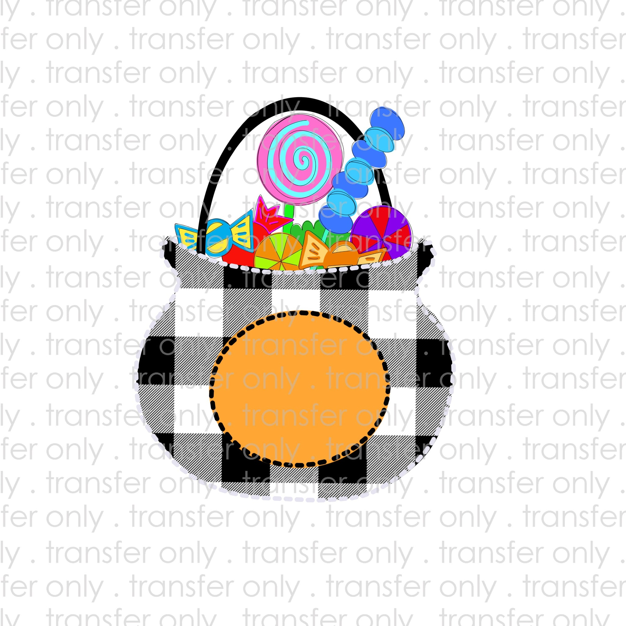 Trick Or Treat Candy Bucket