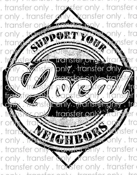 Support Your Local Neighbors