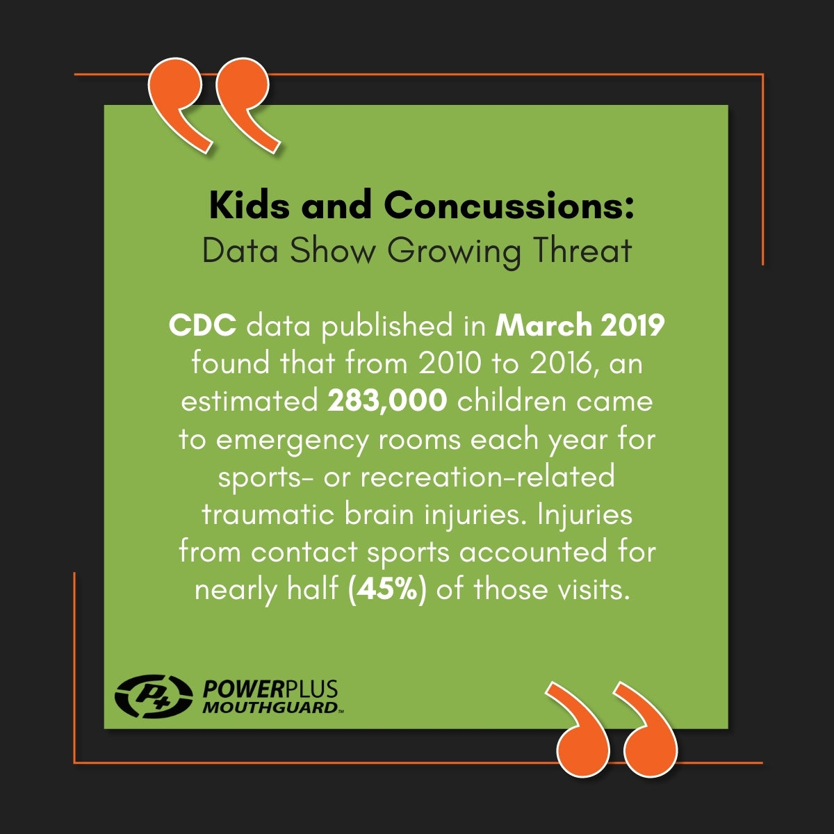 Kids and Concussions: Data Shows Growing Threat