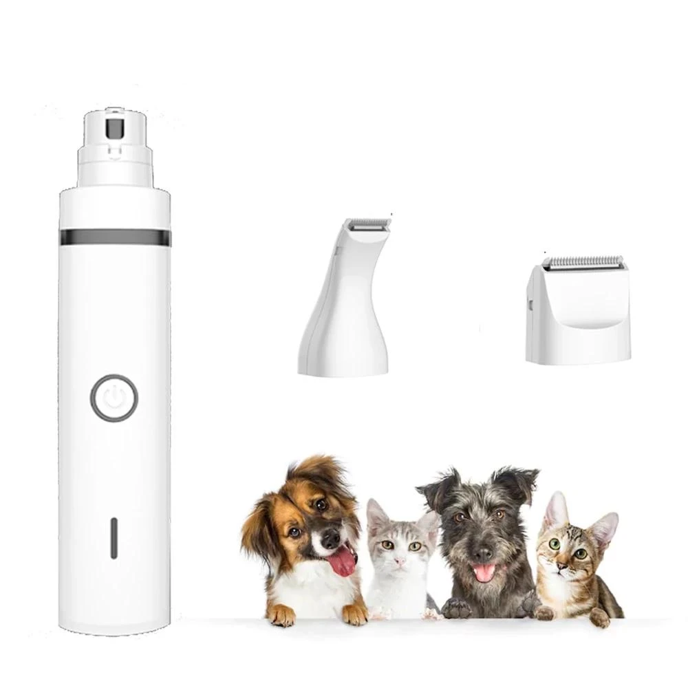 3 IN 1 Rechargeable Pet Grooming Machine Dog Cat Hair Trimmer & Nail Grinding & Foot Hair