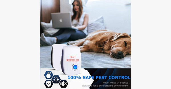 2020 Ultrasonic Electronic Pest Repeller