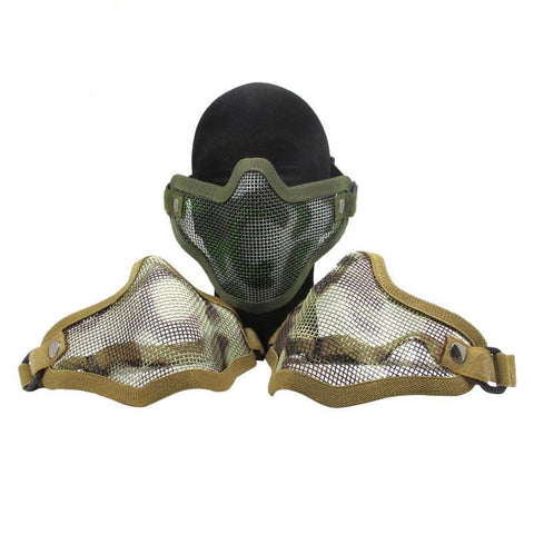 Steel Mesh Mask - Gel Blaster Tactical Protective Gear For Sale - Sting Ops Tactical