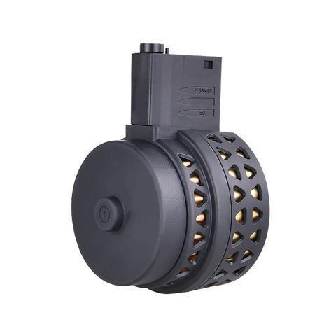 Drum Magazine for JINMING M4A1 J8, SCAR & ACR- Gel Blaster Magazines For Sale - Sting Ops Tactical