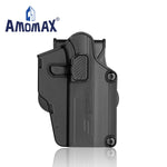 AMOMAX PER-FIT HARD SHELL HOLSTER (Black) - Gel Blaster Tactical Gear For Sale