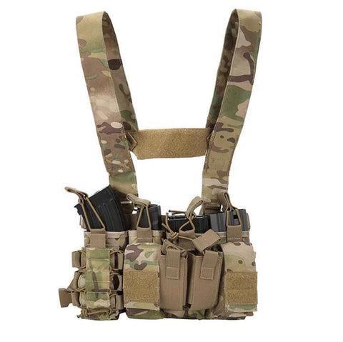"""BATTLE BRA"" Chest Rig - Gel Blaster Tactical Gear For Sale - Sting Ops Tactical"