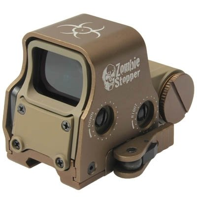 556 Zombie Stopper Sight Rifle Scope – Tan - Gel Blaster Parts & Accessories For Sale