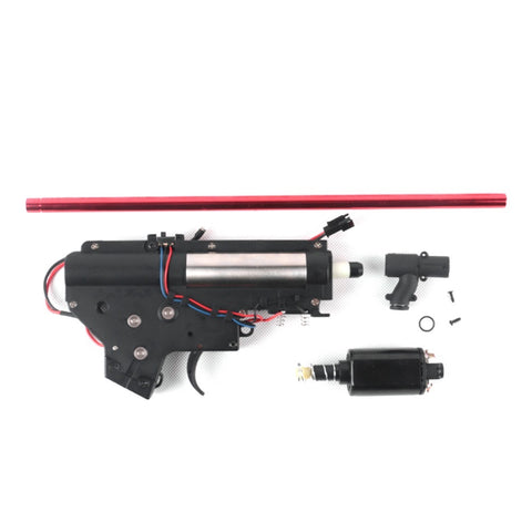 JING JI SLR V2 Nylon Gearbox + T-Piece + 480 Motor - Gel Blaster Parts & Accessories Gearbox For Sale