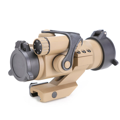 M3 Red/Green Dot Scope/Sight for 20mm Width Rail – Tan - Gel Blaster Parts & Accessories For Sale