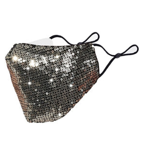 MaskON™ Sequin Fashion Face Mask