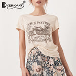 Vintage Love Potion #9 Graphic Tee (by Everkaki) - Fizzypopization