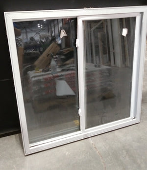 "Medium Sliding Vinyl Window with Screen (48"" X 47"")"