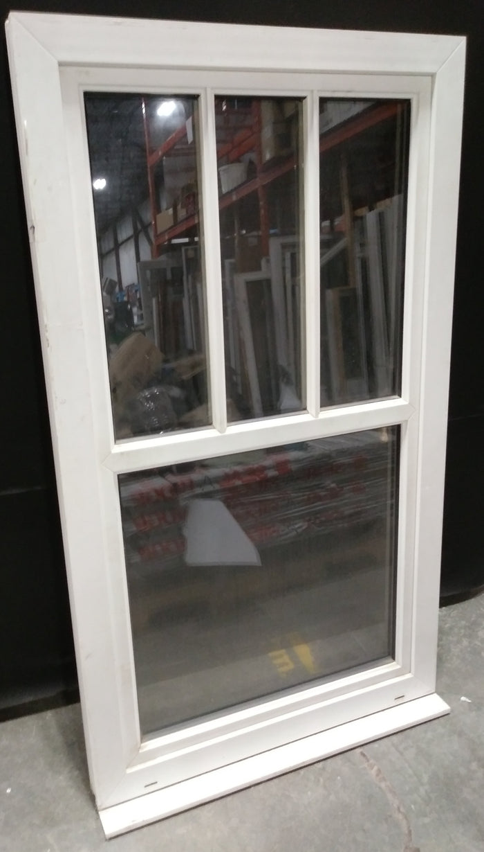 Medium Casement Window with Four Panes (34.75x60.25x4)