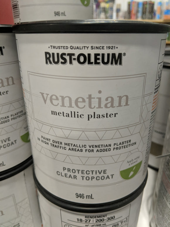 Venetian Metallic Plaster Clear Top Coat
