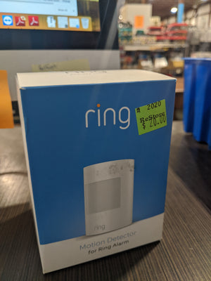 Ring Motion Detector