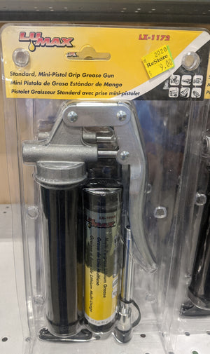 Mini-Pistol Grip Grease Gun