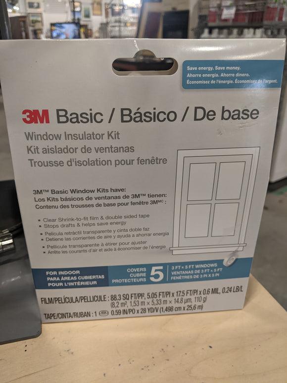 Basic Window Insulator Kit
