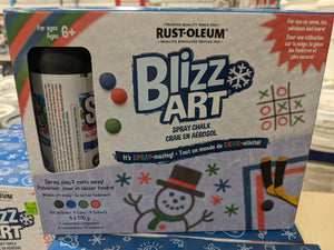 Blizz-Art Spray Chalk