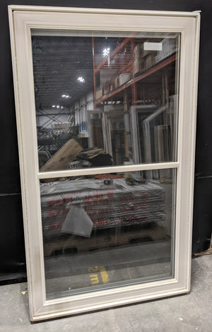 "Standard Crank Casement White Vinyl Window (38"" X 63"")"