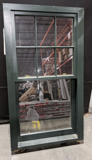 "Standard Sliding Window with Faux Muntins and Keyed Lock (36.25"" X 65"")"