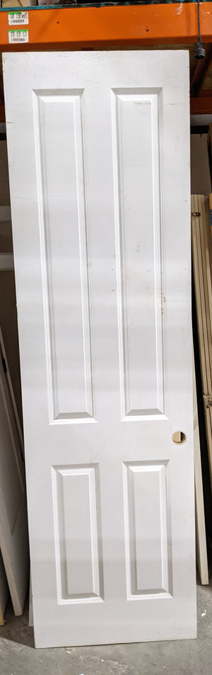 "Tall 4 Panel Interior Door (28"" x 95.5"")"