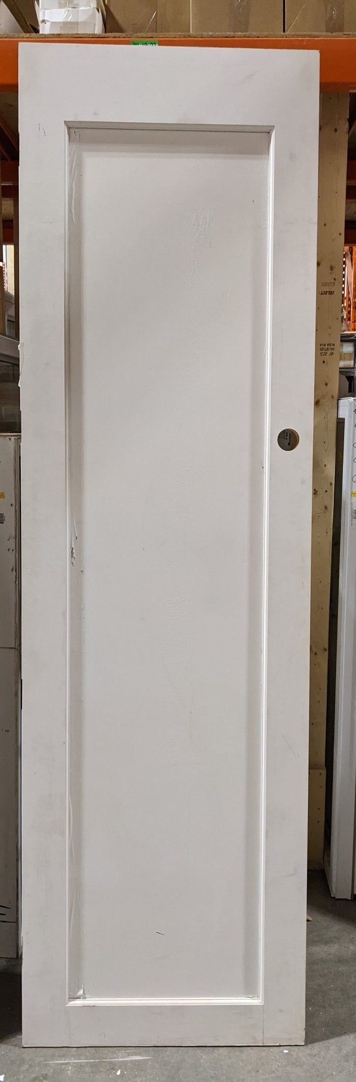 Single Pane French Doors with Knob Cutout
