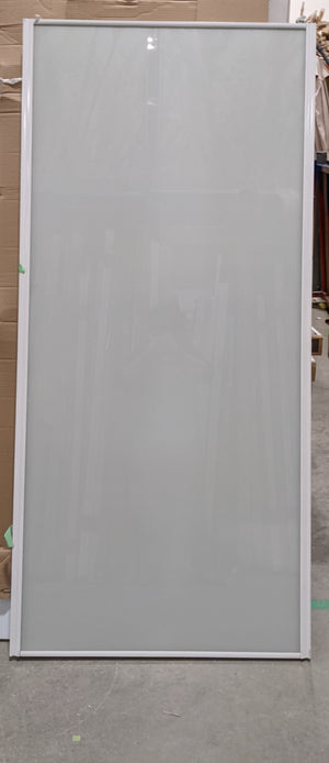 "Fogged Glass Sliding Door Set of 2 (36.5"" ea x 78"")"