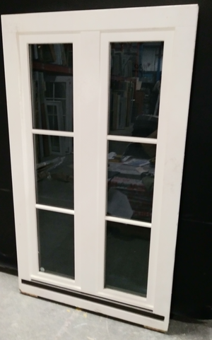 "Tall French Faux Casement Window (36"" x 62"")"