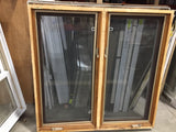 Brown and White Window with Screen - (47.5x47x5.5)