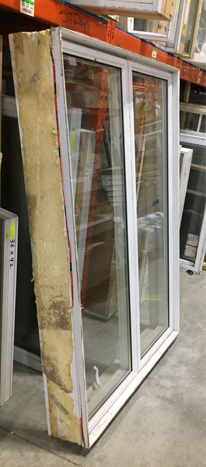 White Rectangular Casement Window - (40x60x8)