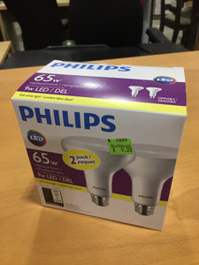 Philips LED Light Bulb 2 Pack