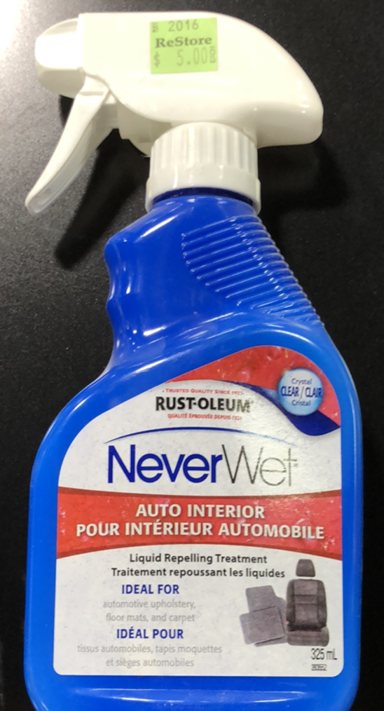 NeverWet Auto Interior Treatment