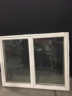 White Double Pane Casement Window (46x36x6.5)