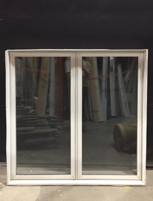 "White 2 Panel Sliding Window (46"" x 46"" x 8"")"