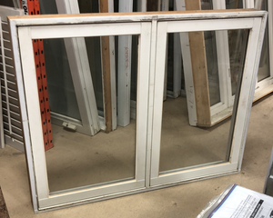 "White Casement Window (51"" x 38"" x 5.25"")"