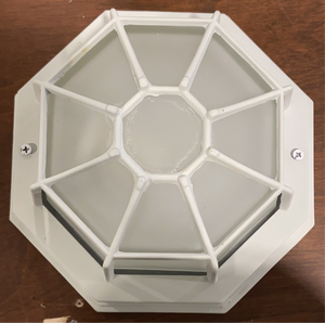 Cast Iron Outdoor Flush Mount